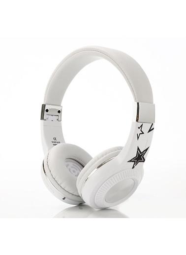 Bludfire Bludfire Kulaküstü Kulaklık Beyaz Beyaz